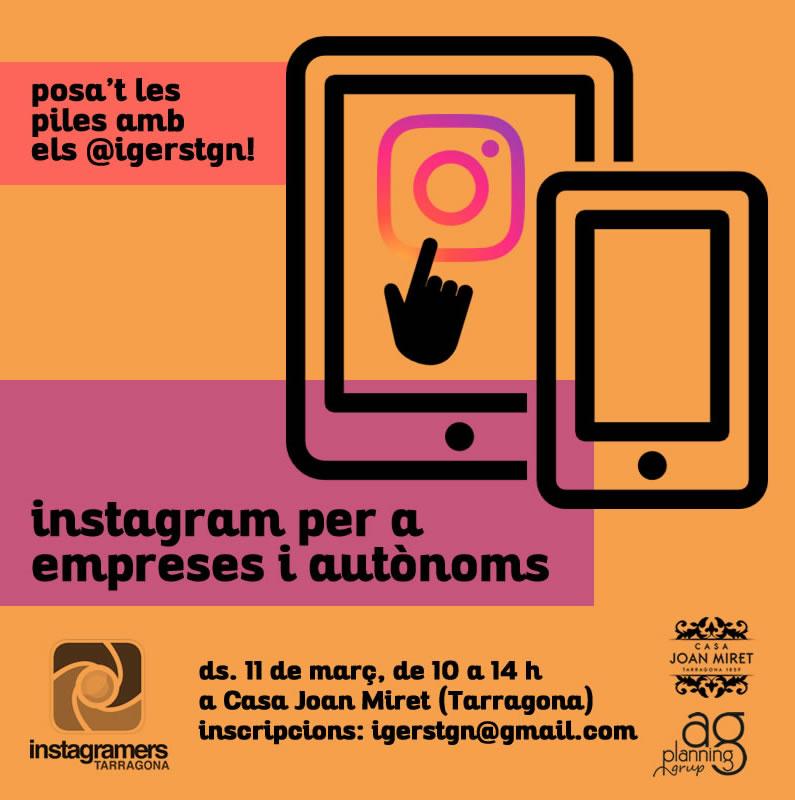 Curso de instagram - Casa miret tarragona ...